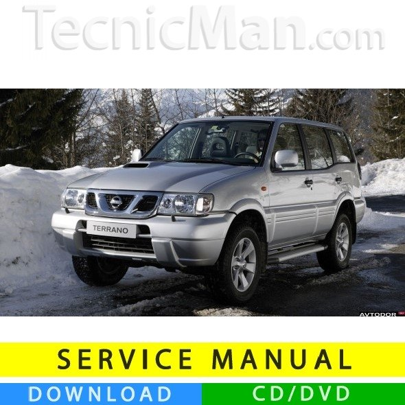 Nissan Terrano Ii Service Manual  1993