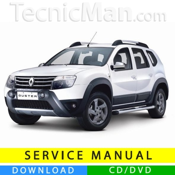 Renault Duster Service Manual  2010