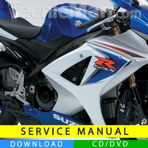 Suzuki 2007 gsxr 1000 service manual