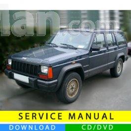 2000 2001 jeep cherokee xj repair pdf service manual tradebit.