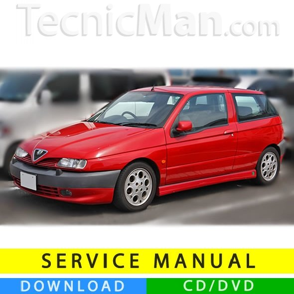 Alfa Romeo 145 service manual (1994-2000) (Multilang)