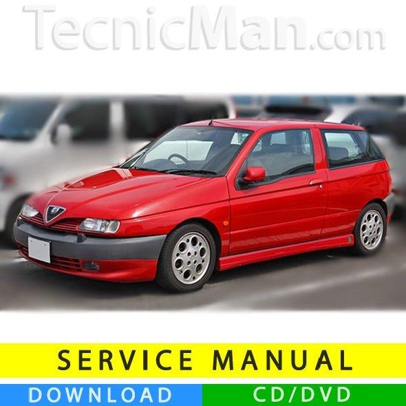 Alfa Romeo 145 service manual (1994-2000) (Multilang)
