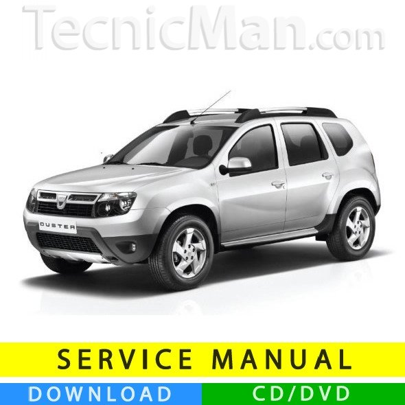 Dacia Duster service manual (2010-2014) (EN)