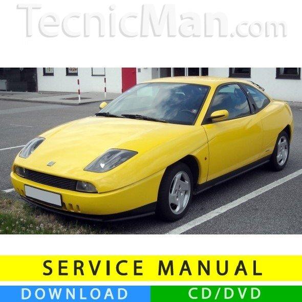 Fiat Coupé service manual (1994-2000) (EN)