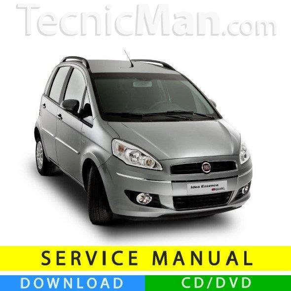 Fiat Idea service manual (2003-2012) (Multilang)
