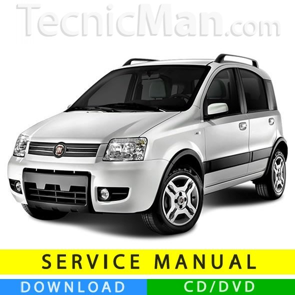 Fiat Panda service manual (2003-2012) (Multilang)