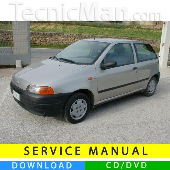 Fiat Punto service manual (1993-1998) (IT)