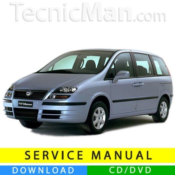 Fiat Ulysse service manual (2002-2010) (Multilang)