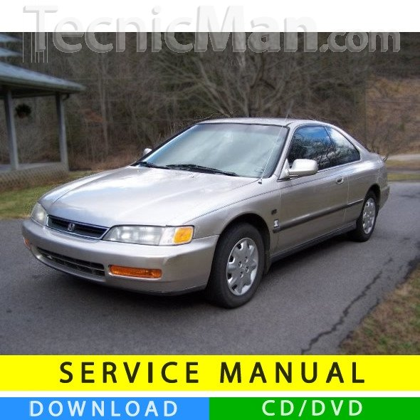 Honda Accord service manual (1993-1997) (EN)