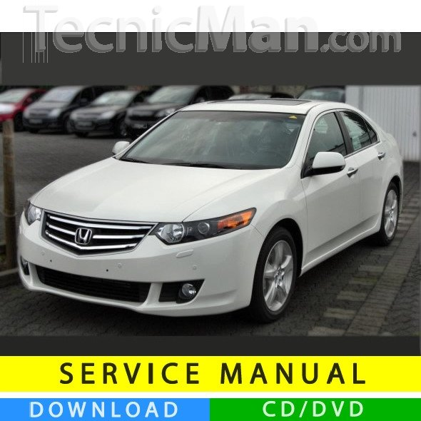 Honda Accord service manual (2008-2012) (EN)