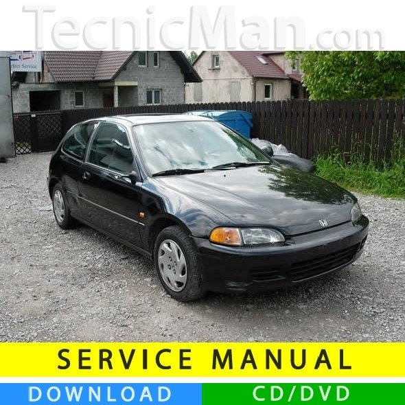 Honda Civic V service manual (1992-1995) (EN)