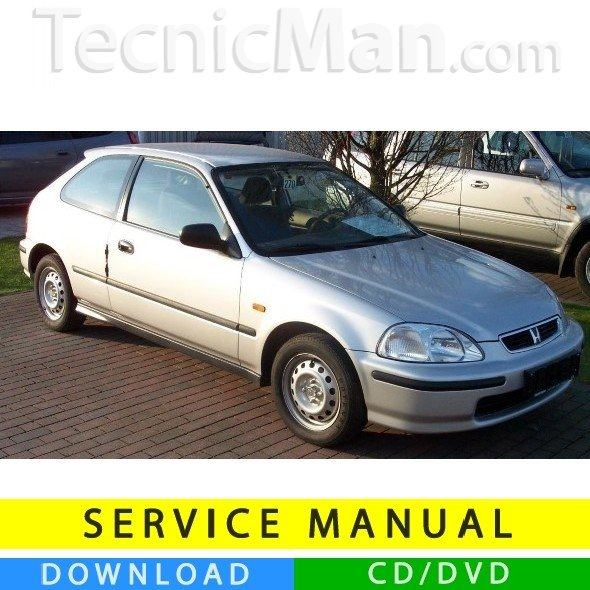 Honda Civic VI service manual (1996-2000) (EN)
