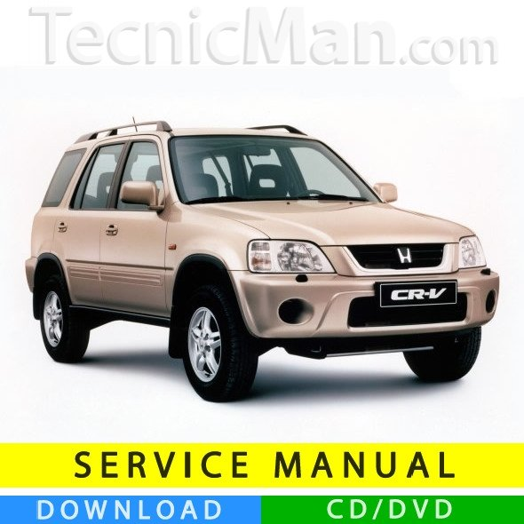 Honda CR-V service manual (1996-2001) (EN)
