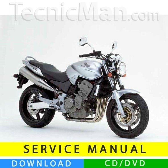 Honda Hornet 600 service manual (1998-2002) (IT)