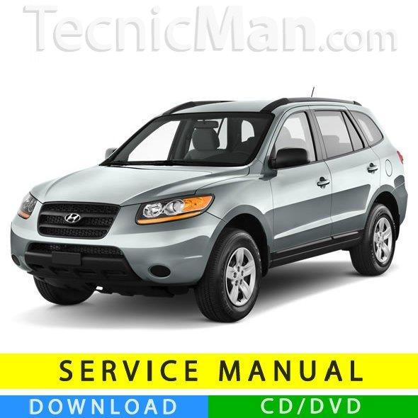 Hyundai Santa Fe service manual (2006-2012) (EN)