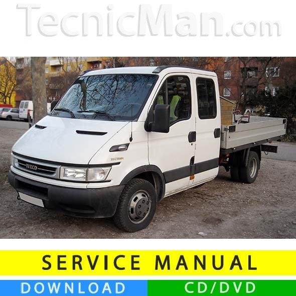 Iveco Daily service manual (1999-2006) (EN)
