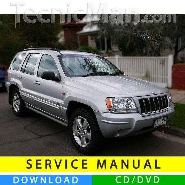 Jeep Grand Cherokee service manual (1999-2004) (EN)