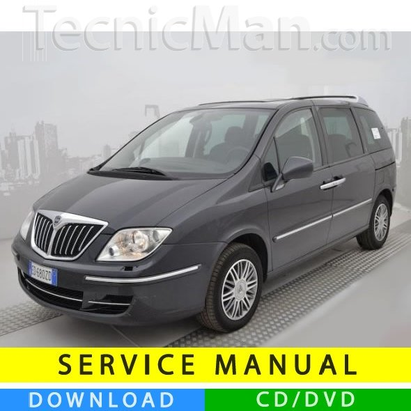 Lancia Phedra service manual (2002-2014) (Multilang)