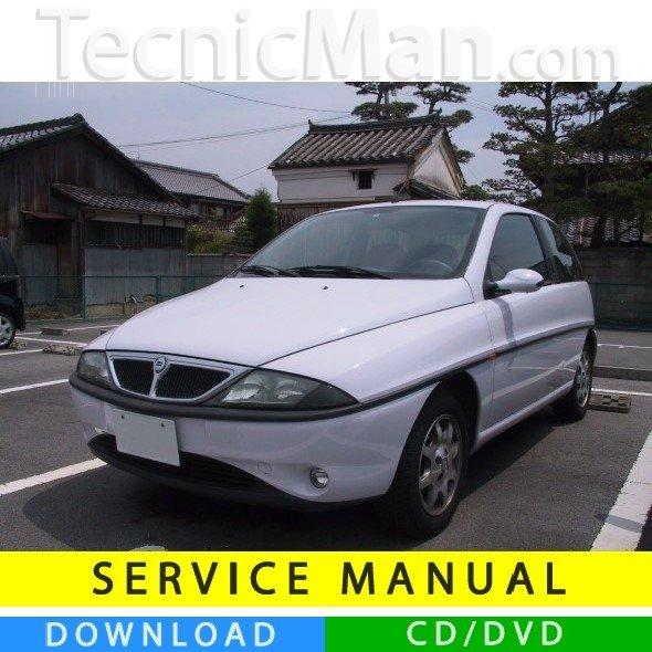 Lancia Y service manual (1996-2003) (IT)