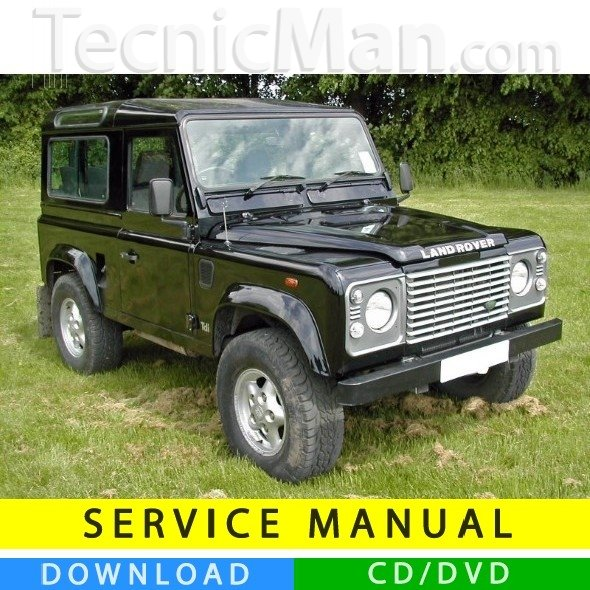 Land Rover 90-110 service manual (1984-1990) (EN)