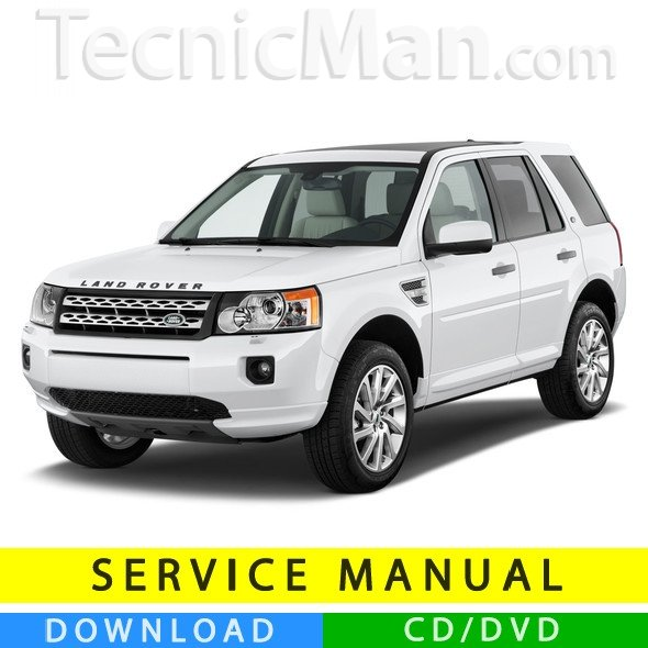 Land Rover Freelander 2 service manual (2006-2014) (EN)