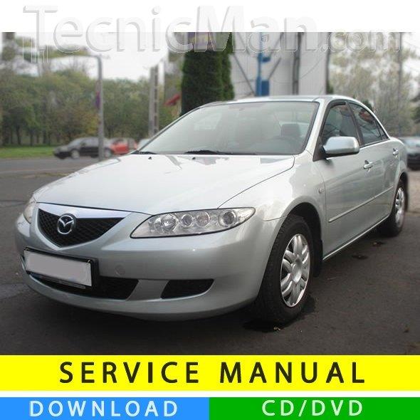 Mazda 6 service manual (2002-2008) (EN)