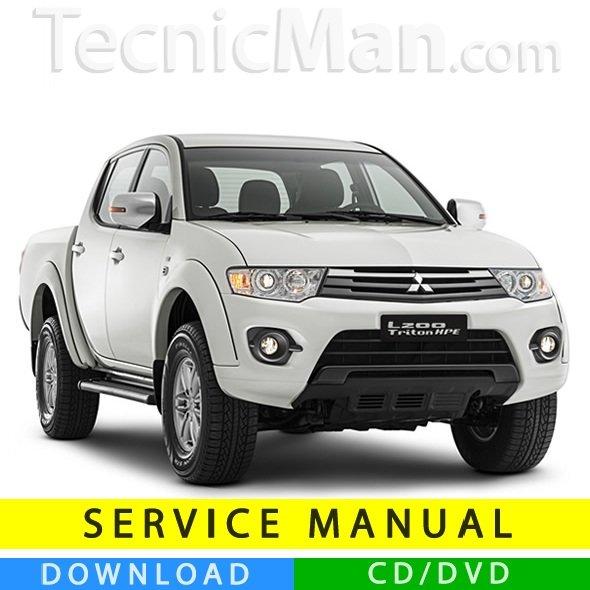 Mitsubishi L200 service manual (2005-2015) (EN)