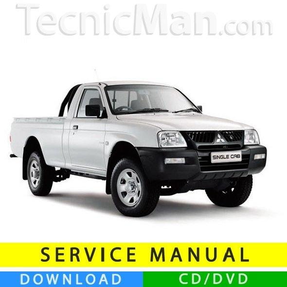 Mitsubishi Triton service manual (1995-2005) (EN)