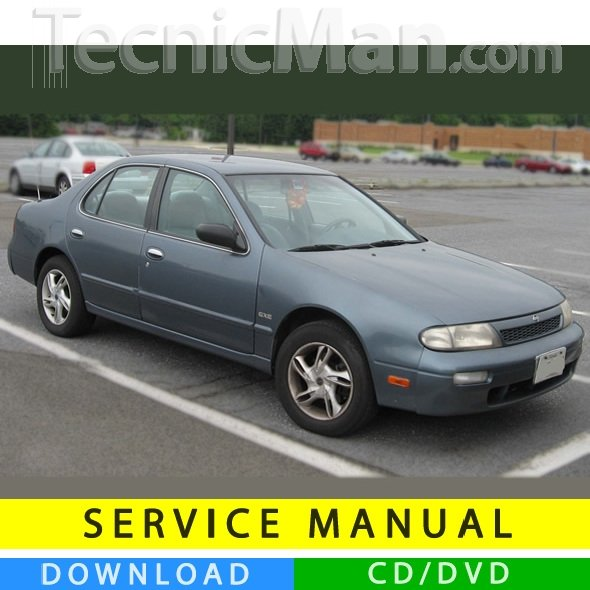 Nissan Altima service manual (1992-1997) (EN)