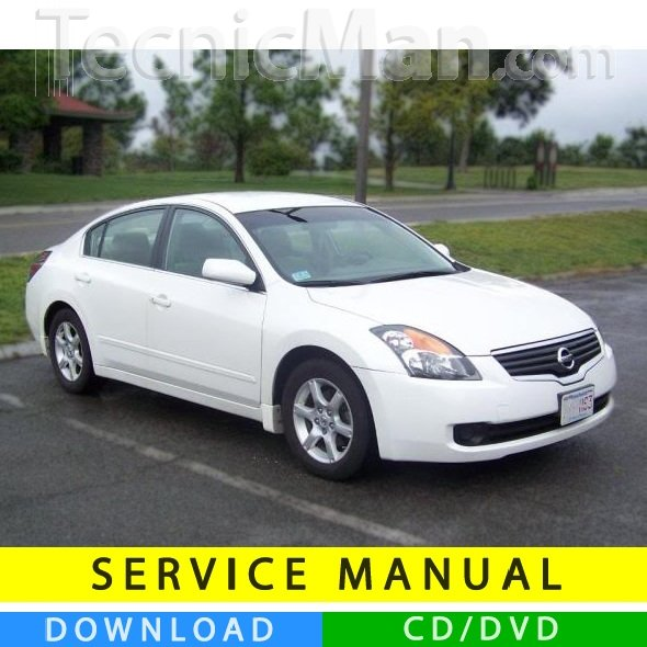 Nissan Altima service manual (2007-2012) (EN)