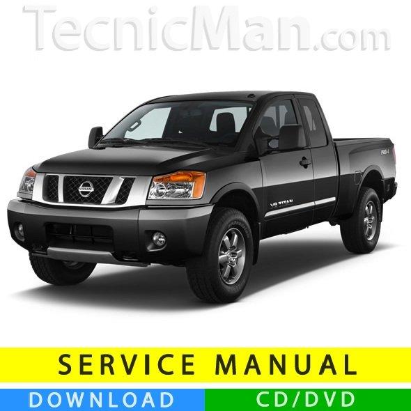 Nissan Titan service manual (2003-2015) (EN)