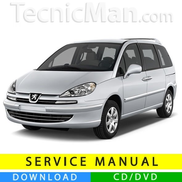 Peugeot 807 service manual (2002-2014) (Multilang)