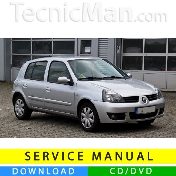 Renault Clio 2 service manual (1998-2012) (MultiLang)