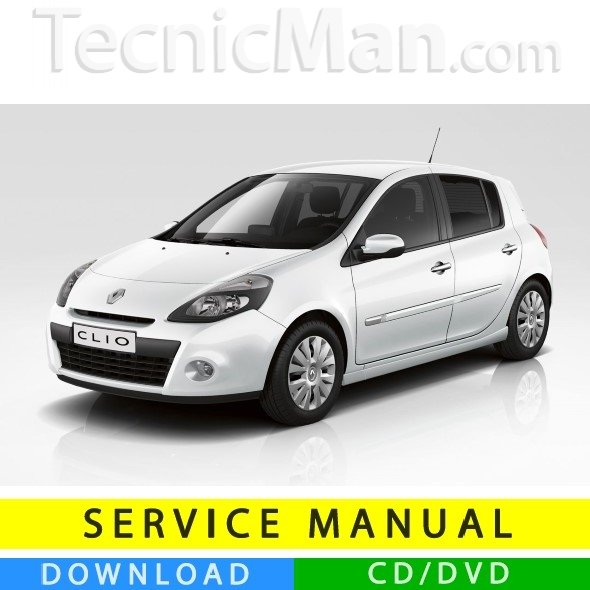 Renault Clio 3 service manual (2005-2012) (MultiLang)