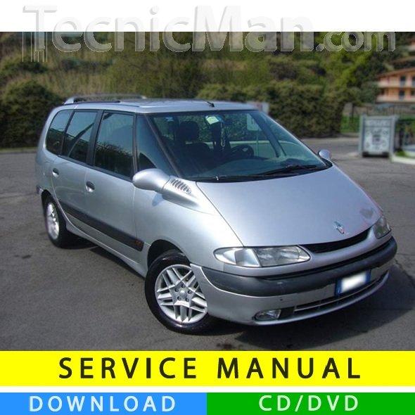 Renault Espace III service manual (1997-2003) (EN-FR-ES)