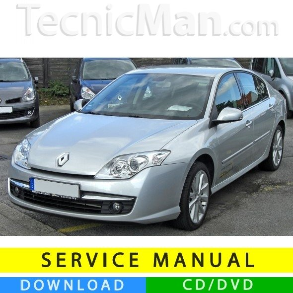 Manuale officina Renault Laguna III (2007-2014) (EN-FR-ES)