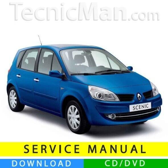 Renault Scenic 2 service manual (2003-2009) (IT)