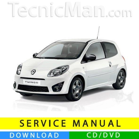 Renault Twingo service manual (2007-2014) (EN-FR-ES)