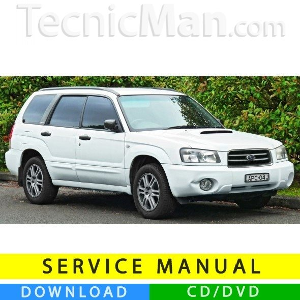 Subaru Forester service manual (1999-2004) (EN)