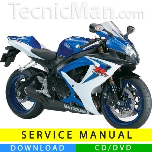 Suzuki GSX-R 600 service manual (2006-2007) (IT)
