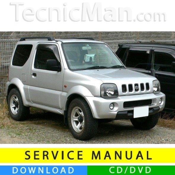 Suzuki Jimny III service manual (1998-2014) (EN)