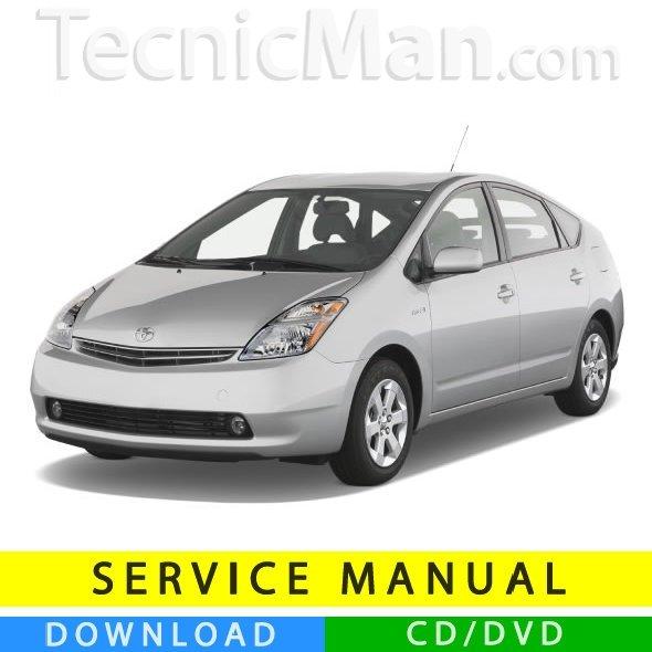Toyota Prius service manual (2003-2009) (EN)