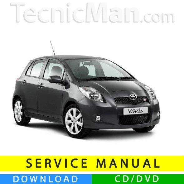 Toyota Yaris service manual (2005-2011) (EN)