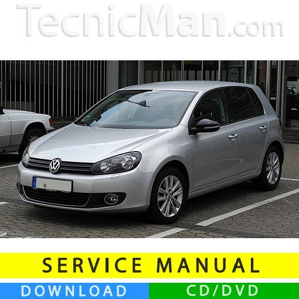 Volkswagen Golf VI service manual (2008-2012) (IT)