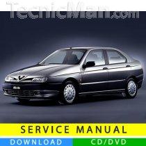 Alfa Romeo 146 service manual (1995-2000) (EN)
