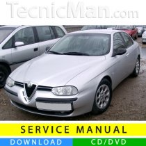 Alfa Romeo 156 service manual (1997-2007) (Multilang)