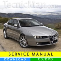 Alfa Romeo 159 service manual (2005-2013) (Multilang)