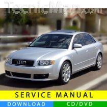 Audi A4 service manual (2000-2008) (EN)