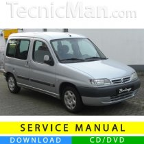 Citroen Berlingo I service manual (1996-2007) (EN)