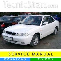 Daewoo Nubira J100/J150 service manual (1997-2002) (EN)